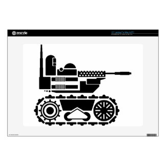 Military Combat remote controlled Robot Decal For Laptop