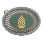Military Command Sergeant Major Buckle Belt Buckle