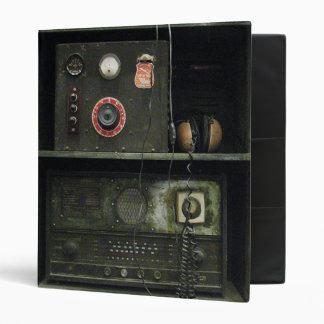 Military Comms Vintage Radio Equipment Vinyl Binder
