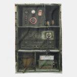 Military Comms Vintage Radio Equipment Hand Towels