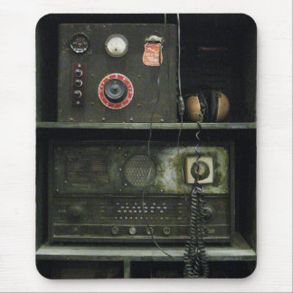 Military Comms Vintage Radio Equipment Mouse Pad