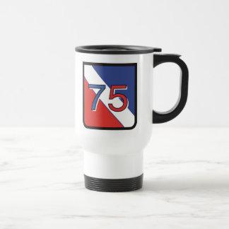 Military Crest and Logo Travel Mug
