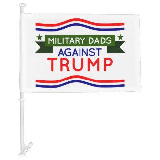 Military Dads Against Trump Car Flag