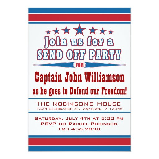 Send Off Party Invitation Wording with great invitations sample