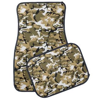 Military Desert Camo Car Floor Mat