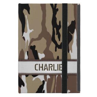 Military Desert Camo Name Template iPad Mini Case