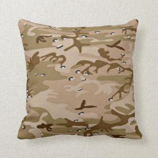 Military Desert Sand Camo Pillow