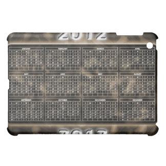 Military Design 2012 Calendar iPad Mini Cover