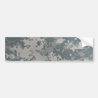 Military Digital Camo Bumper Sticker