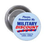 MILITARY DISCOUNT Button