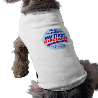 MILITARY DISCOUNT Pet Clothing