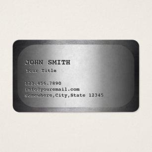 Dog tag business cards templates zazzle military dog tag faux metal business card colourmoves