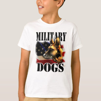 Military Dogs T-Shirt