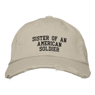 military embroidered hats