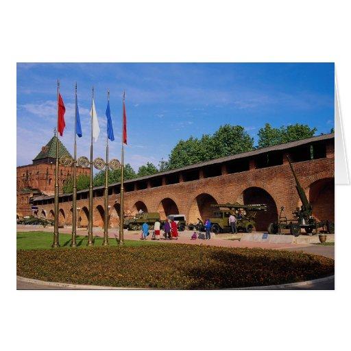 Military Exhibition, Kremlin, Nizhny Novgorod, Rus Card