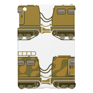Military Expedition Tracked Tractor Case For The iPad Mini