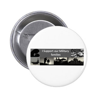 Military Families Pinback Button