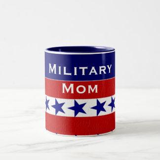 Military Family Custom Personalized Two-Tone Coffee Mug
