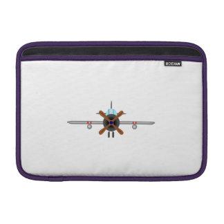 Military Fighter Airplane MacBook Air Sleeve