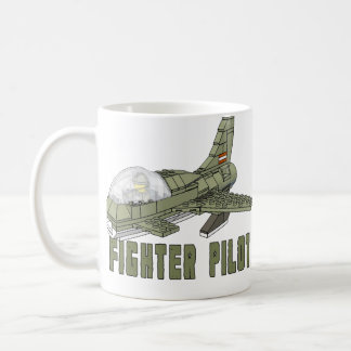 Military Fighter Plane Classic White Coffee Mug