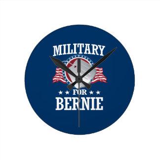 MILITARY FOR BERNIE SANDERS ROUND CLOCK