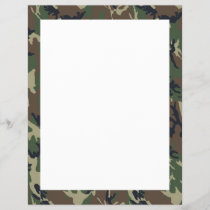 Military Forest Camouflage Background