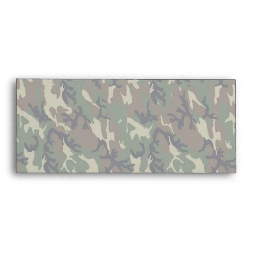 Military Forest Camouflage Background Lightened Envelopes