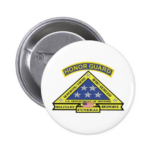 MILITARY FUNERAL HONOR GUARD PIN