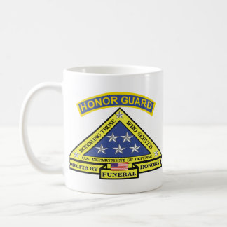 MILITARY FUNERAL HONOR GUARD COFFEE MUG