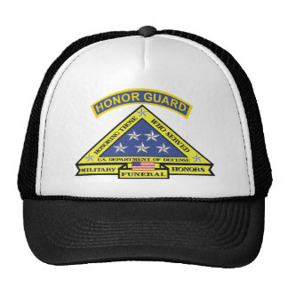 MILITARY FUNERAL HONOR GUARD TRUCKER HAT