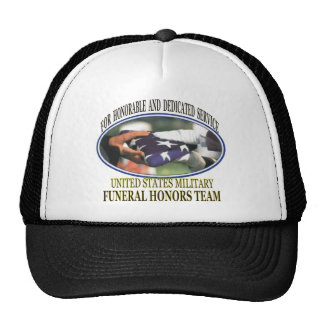 Military Funeral Honors Trucker Hat