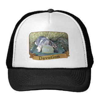 Military German Shepherd Trucker Hats