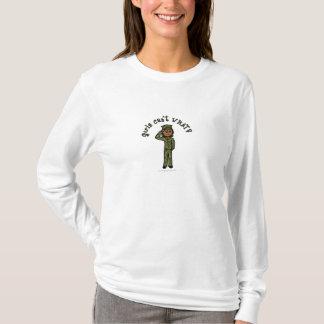 Military Girl - Dark T-Shirt