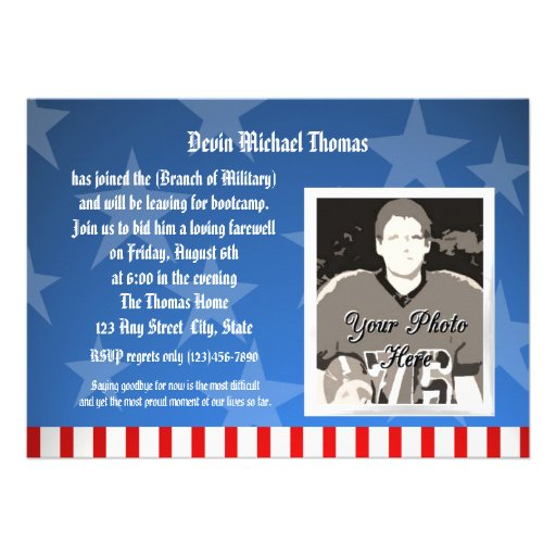 Sayings For The Military On A Going Away Plaque | Party ...