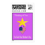 Military Gold Star Mother's Day Postage Stamp