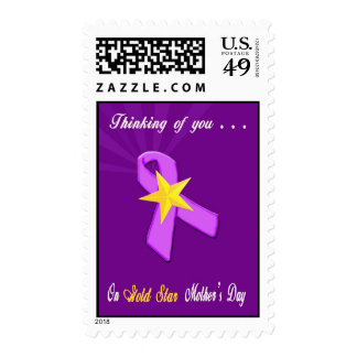 Military Gold Star Mother's Day Postage Stamps
