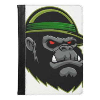 Military Gorilla Head iPad Air Case