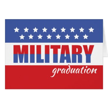 Military Graduation Congratulations with Stars Card