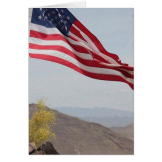 Military Gratitude of Service Card