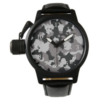 Military Gray Camouflage Pattern