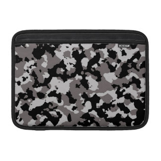 Military Gray Camouflage Pattern Sleeve For MacBook Air