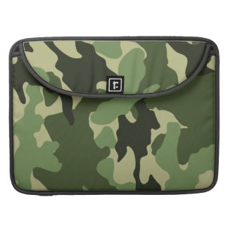 Military Green Camo 15 Inch Macbook Pro Sleeves