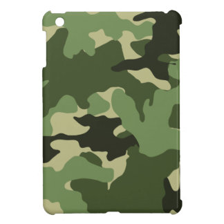Military Green Camo Camouflage iPad Mini Cases
