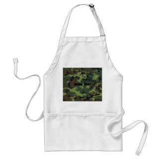 Military Green Camouflage Aprons