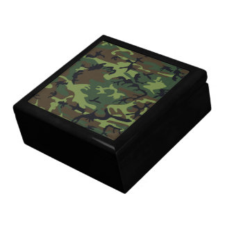 Military Green Camouflage Gift Box