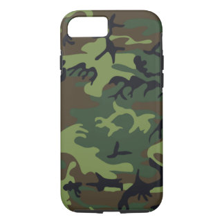 Military Green Camouflage iPhone 7 Case