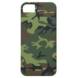 Military Green Camouflage iPhone SE/5/5s Case