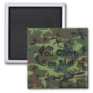 Military Green Camouflage Magnet