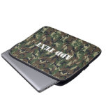 Military Green Camouflage Pattern Computer Sleeves