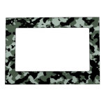 Military Green Camouflage Pattern Magnetic Photo Frame